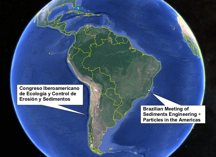 SediMeter in Chile, Brazil, Florida