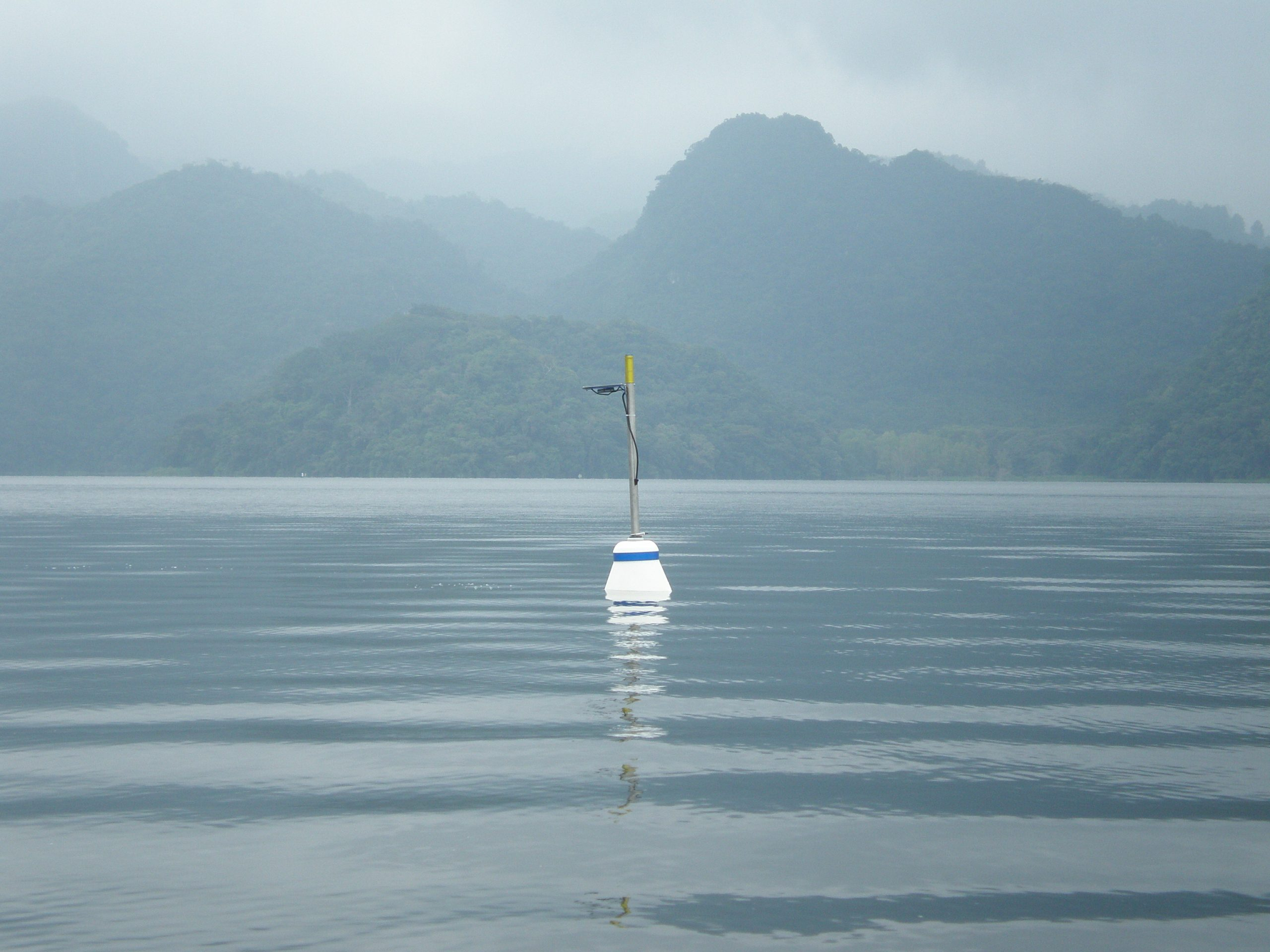 Lindorm's LogDator Buoy deployed in Lago Yojoa
